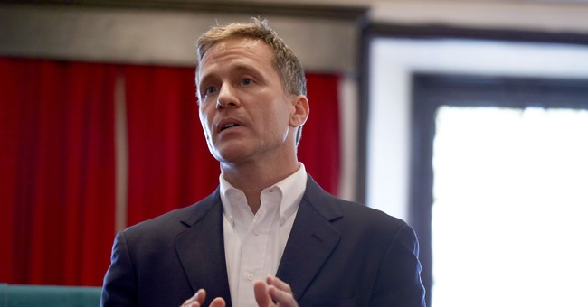 The Latest: Greitens: Peaceful protesters will be protected