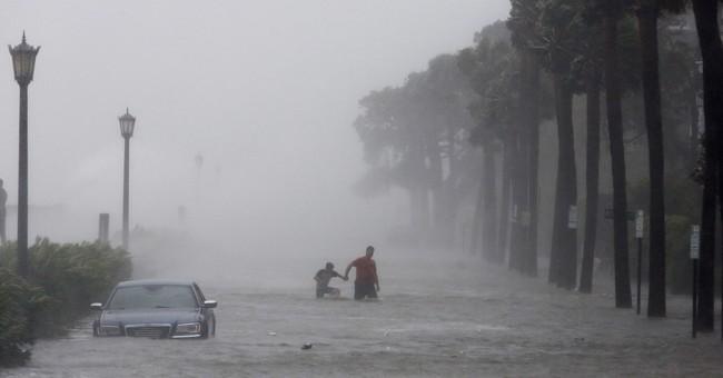 AP PHOTOS: Irma brings floods to Florida, Georgia coast