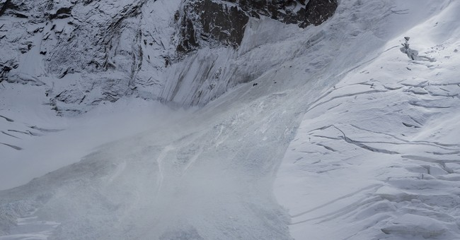 Front edge of unstable Swiss glacier shears off, no one hurt