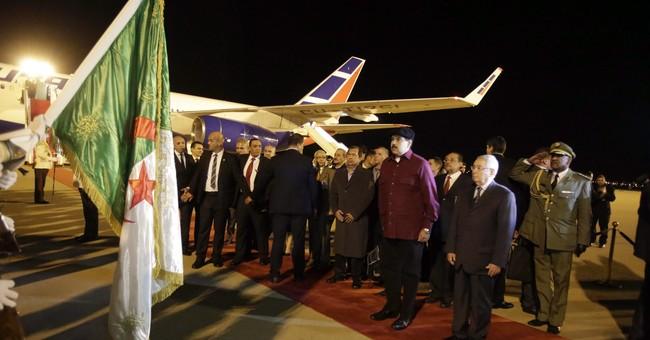 Venezuelan president in Algeria amid political crisis