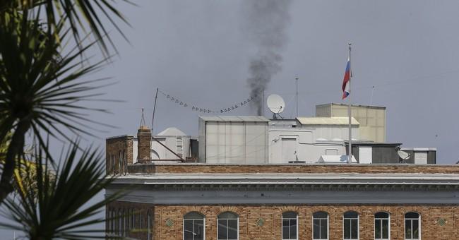San Francisco cites Russian diplomats over mystery smoke