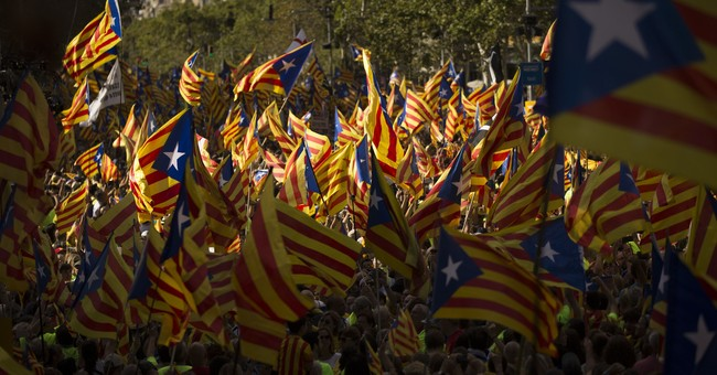 The Latest: 'Yes' campaign for Catalan secession kicks off