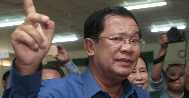 US envoy to Cambodia denies plotting to oust government