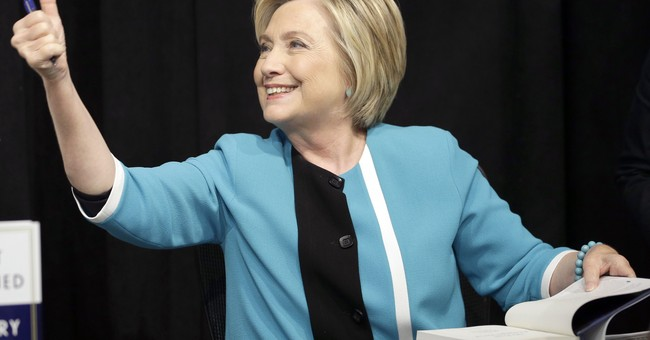 Hillary Clinton signs copies of new book at NYC bookstore