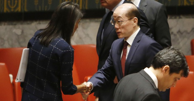 The Latest: NKorea rejects UN sanctions, says US will suffer