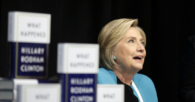 Clinton's book publisher questions reviews from Amazon users