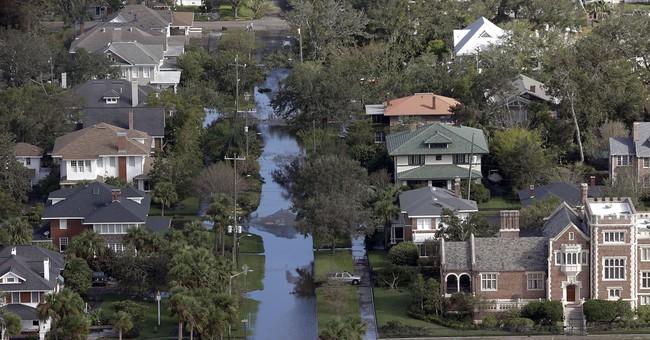 Couple's home an island after Irma: 'We lost everything'