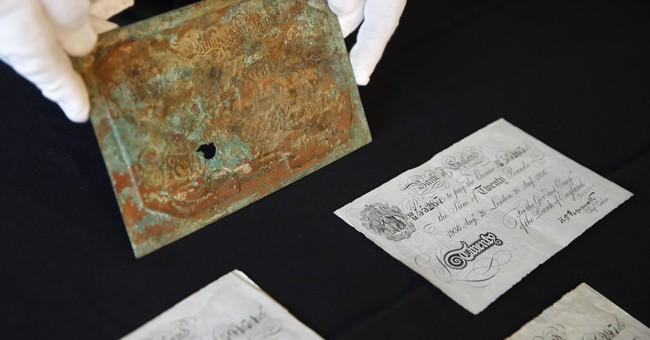 Spy museum's newest: ax used on Trotsky, parts of Powers' U2