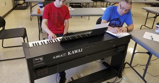 South Dakota Indian students will hear original works played