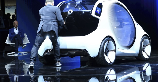 AP Photos: The best from the Frankfurt auto show