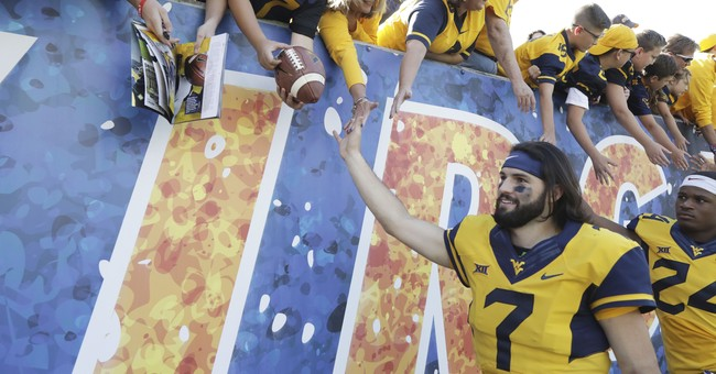 WVU QB Will Grier the 3rd most popular brother in his family