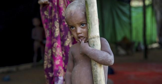 As Rohingya flee Myanmar, leader Suu Kyi skips UN meeting