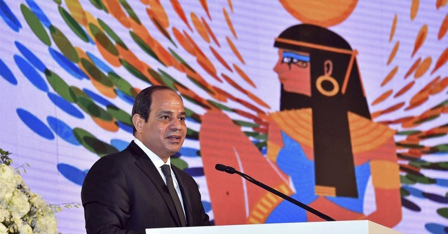 Egypt president expects inflation to fall by half in 2018