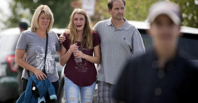 The Latest: Police say school shooting suspect had manifesto