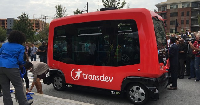 Atlanta tests self-driving vehicle in heart of the city