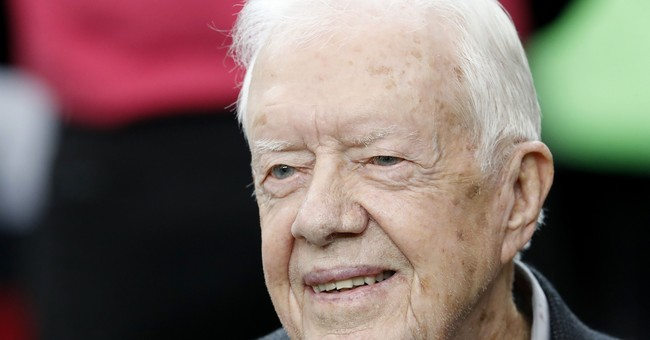 Strange bedfellows: Jimmy Carter defends Trump
