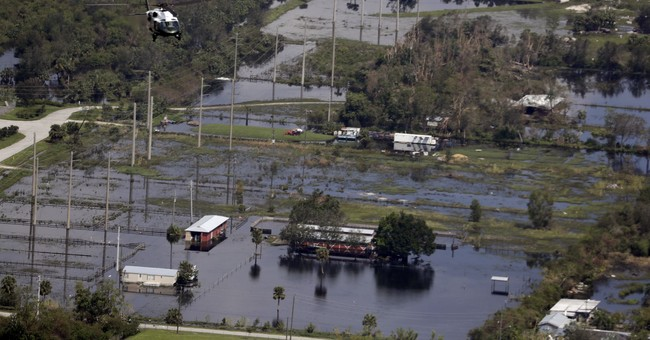 The Latest: Thousands told to evacuate as Fla. river floods
