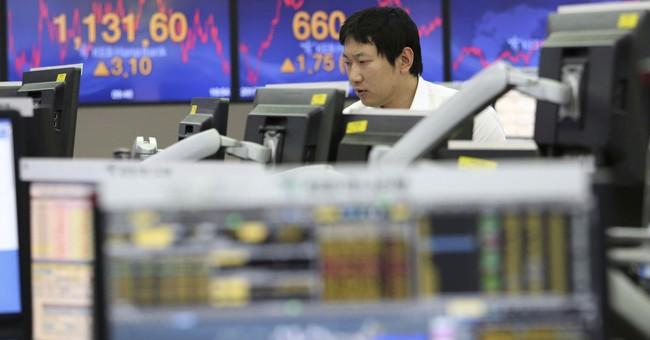 Global stocks fall after China data, UK central bank warning