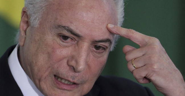 Attorney general: Brazil's Temer leads criminal organization