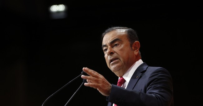 The Latest: Renault-Nissan CEO confident in electrics future