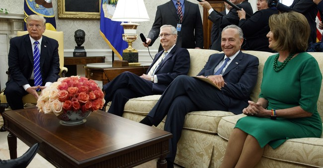 Demonized Schumer and Pelosi now deal-makers with Trump