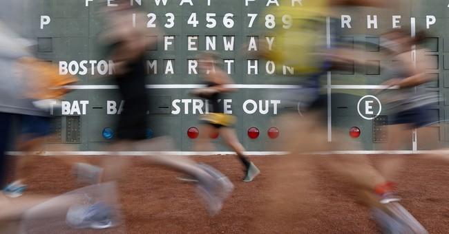 Boston's new home run: Marathon held inside Fenway Park