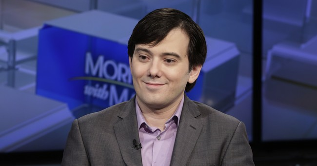 'Pharma Bro' locked up with terrorism and mob suspects
