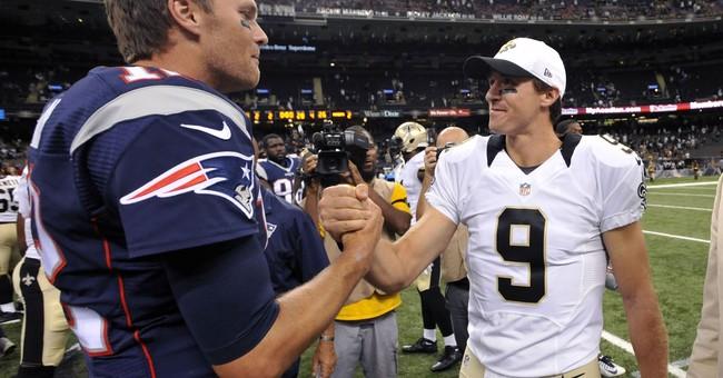 Patriots-Saints clash showcases aging stars Brady, Brees