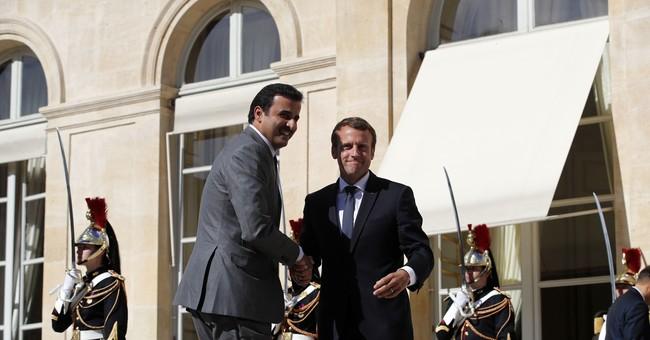 Qatari emir meets Merkel, Macron in 1st trip since crisis