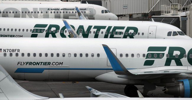 Frontier Airlines fined for long delays in Denver snowstorm