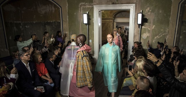 London Fashion Week: Burberry brings back vintage check