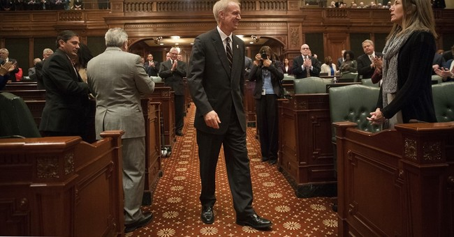 With eye on 2018, Illinois governor says 'Don't blame me'