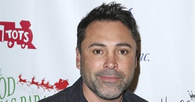Boxing great Oscar De La Hoya suspected of DUI in California