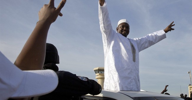 Gambia plans Feb. 18 celebration as new leader arrives home