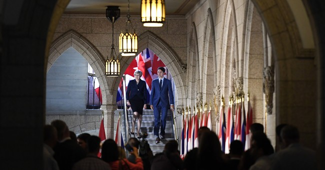 UK PM, Trudeau say Canada-EU deal a 'basis' for new talks