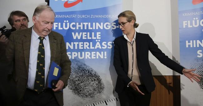 German nationalist party presents anti-Islam platform