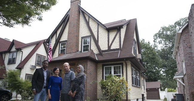 Trump's childhood home becomes showcase for refugees