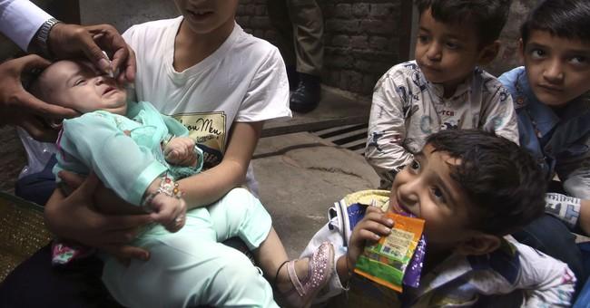 Pakistan kicks off nationwide polio drive, citing success