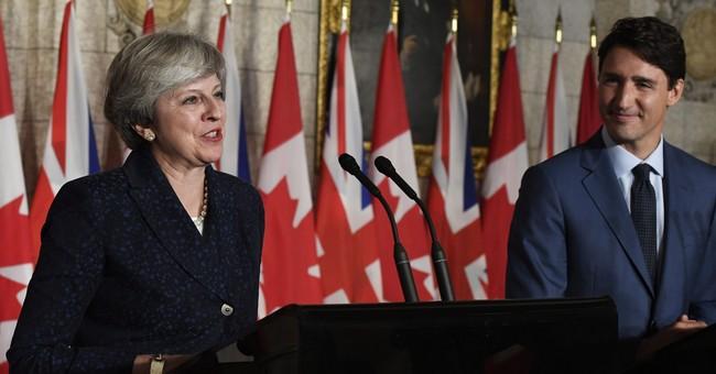 UK PM, Trudeau say Canada-EU deal a 'basis' for new talks