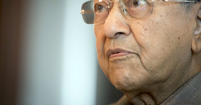 AP Interview: Mahathir says opposition can win Malaysia vote