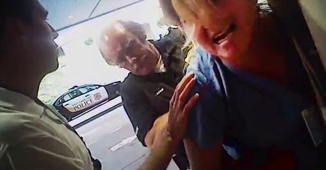 Officer in nurse arrest was reprimanded for sex harassment