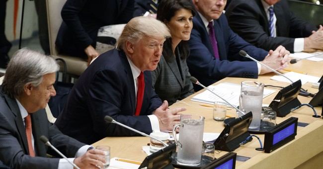 The Latest: Ivanka Trump pursues her own agenda at UN