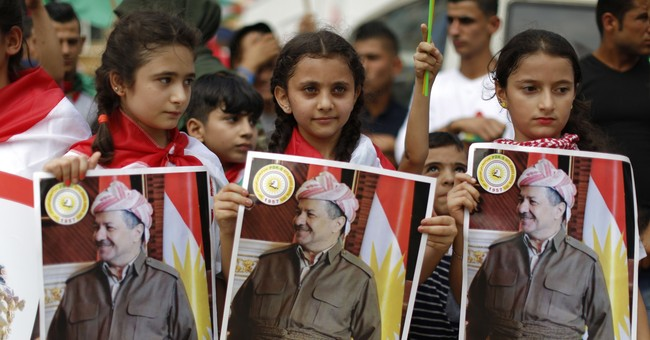 The Latest: Iraq's top court suspends Kurdish referendum