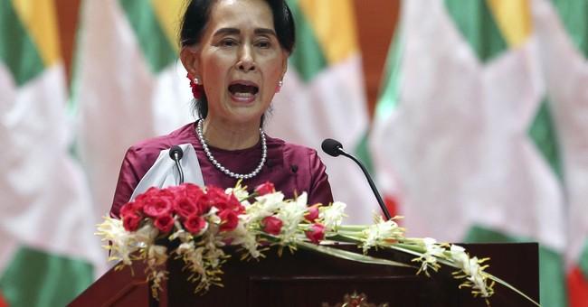 Reactions to Myanmar leader Aung San Suu Kyi's speech