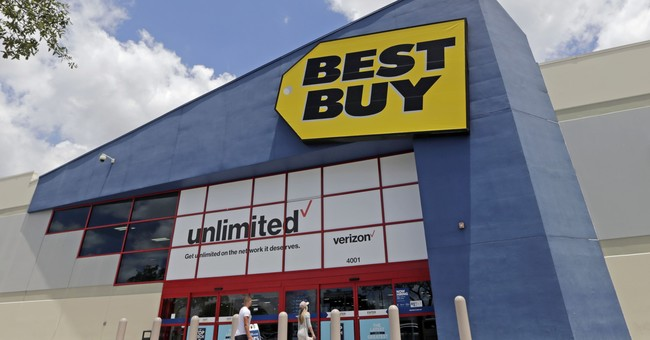 Best Buy shares down as it offers muted profit goals