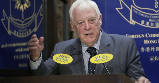 Patten warns against calls for Hong Kong independence