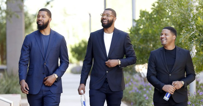 The Latest: Lawyers press victim about assets of NBA twins