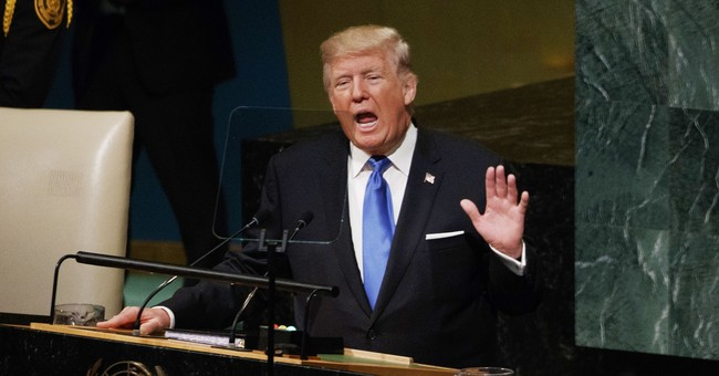 The Latest: Chinese expert says Trump speech sounded warlike