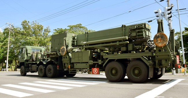 Japan deploys missile interceptor near NKorea flight path