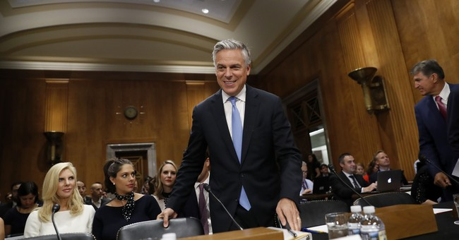 Huntsman says Moscow's meddling led to low level of trust